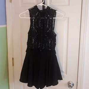 Forever 21 black lace small dress